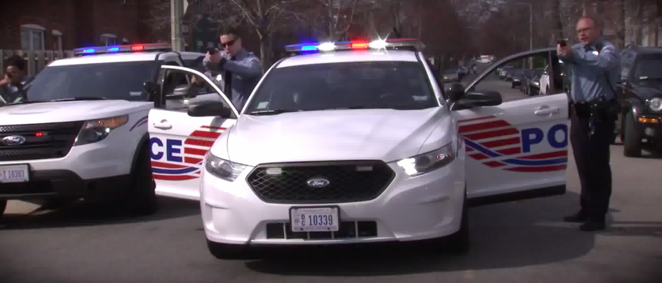 MPD officers. (MPD/YouTube/Screenshot)