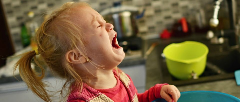 angry kid tantrum Shutterstock/Marcel Jancovic