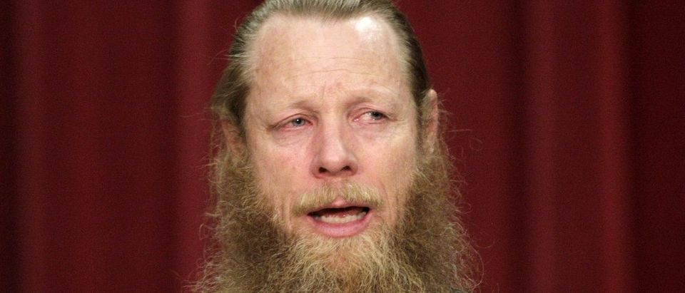 Bob Bergdahl speaks during a news conference in Boise, Idaho