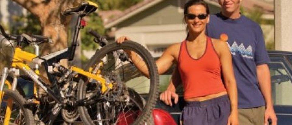 This bike rack is 20 percent off (Photo via Amazon)