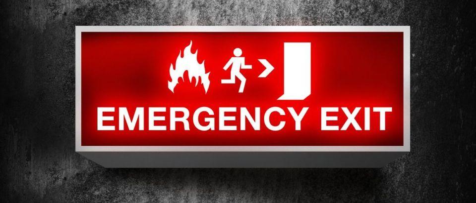 Emergency exit [Shutterstock/