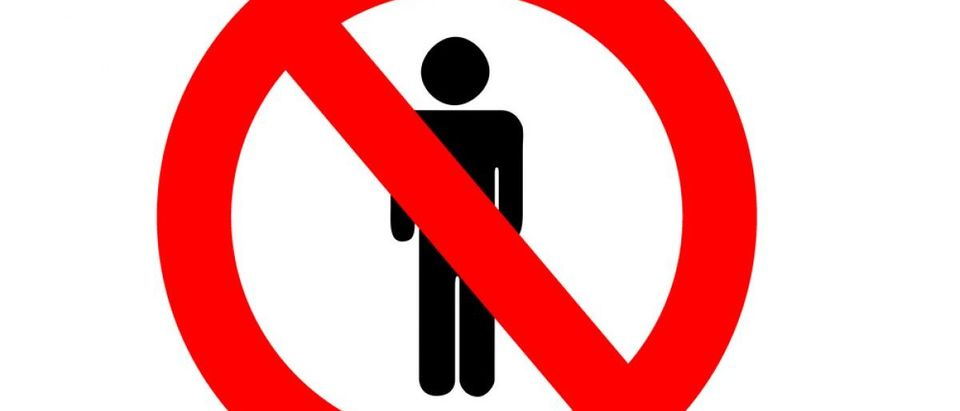 No men allowed. [Shutterstock/werg]