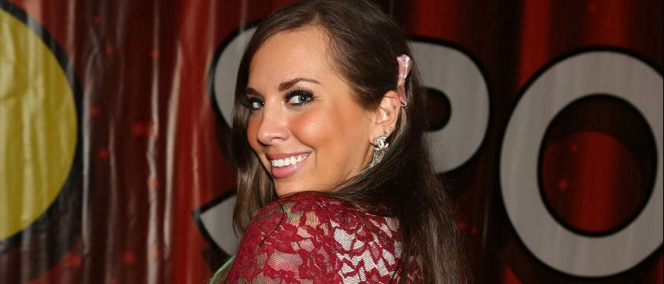 Sydney Leathers at the Exxxotica Convention held in the Donald E. Stephens Convention Center in Chicago