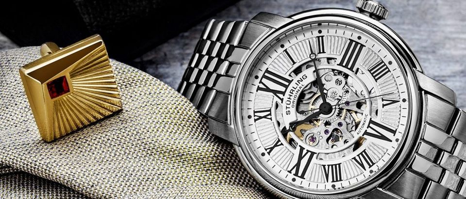 Stuhrling watches are on sale today (Photo via Stuhrling)