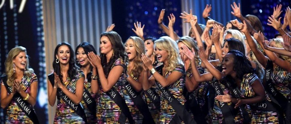 Miss America contestants compete during the 96th Miss America Pageant at Boardwalk Hall in Atlantic City, New Jersey, U.S. September 11, 2016. REUTERS/Mark Makela