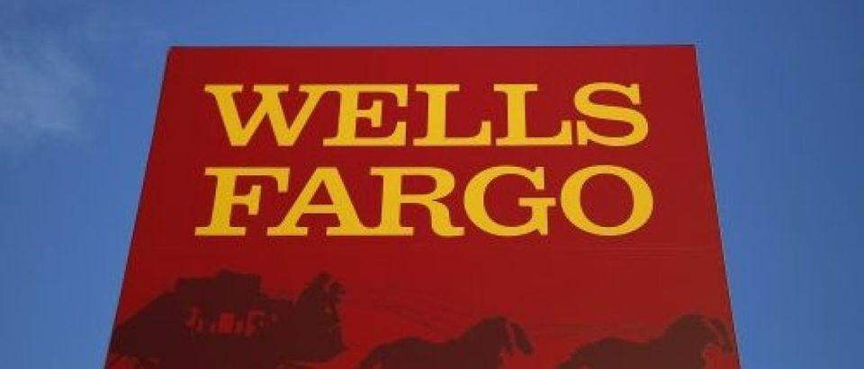 Wells Fargo branch is seen in the Chicago suburb of Evanston Illinois
