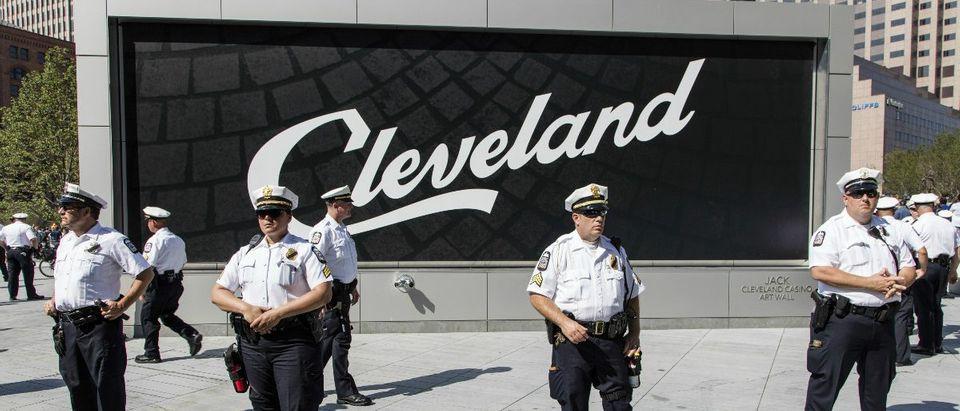 Cleveland Police: John McGraw/shutterstock.com