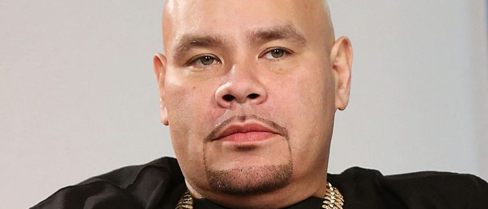 "Fat Joe visits ""U&A"" at Music Choice on August 2, 2013 in New York City"