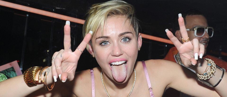 "Miley Cyrus' Official Album Release Party For ""Bangerz"" At The General"