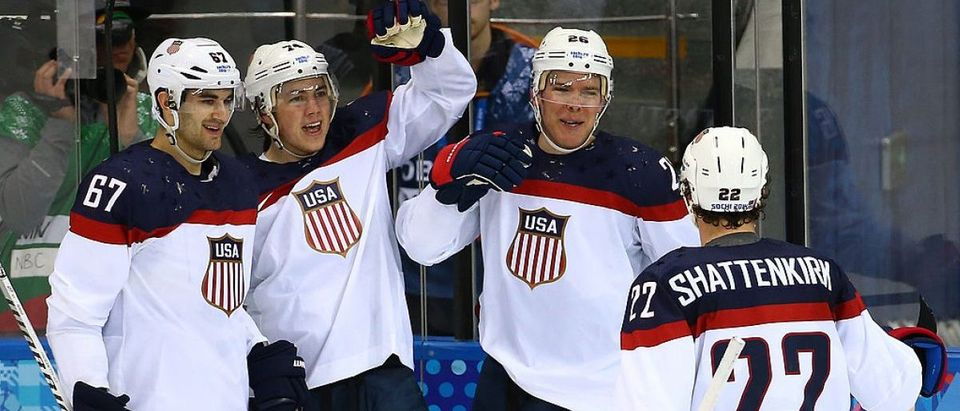 Ice Hockey - Winter Olympics Day 6 - Slovakia v United States