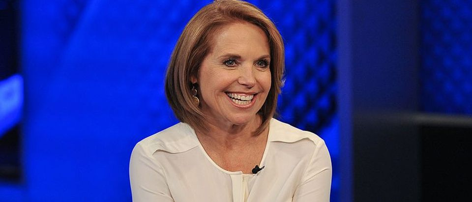 "Katie Couric visits ""The O'Reilly Factor"" at FOX Studios on May 13, 2014 in New York City"