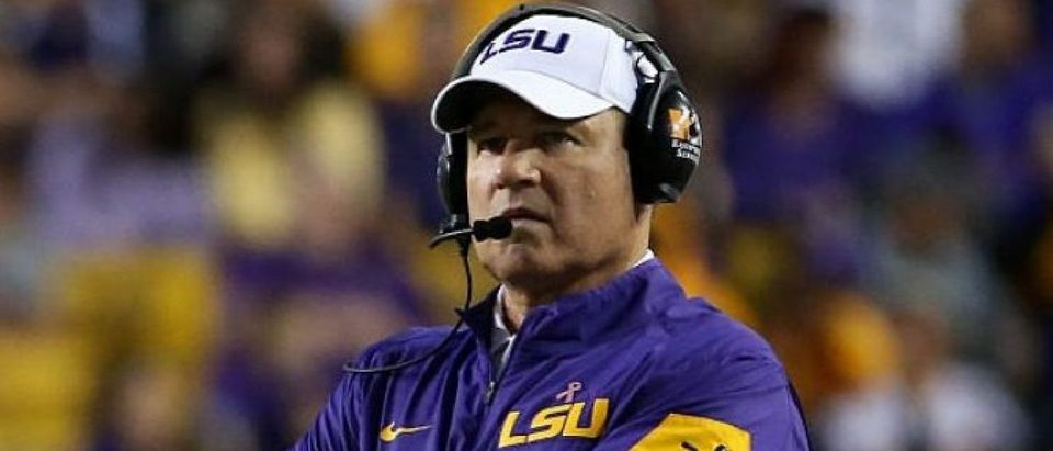 Les Miles (Credit: Getty Images/Chris Grayhen)