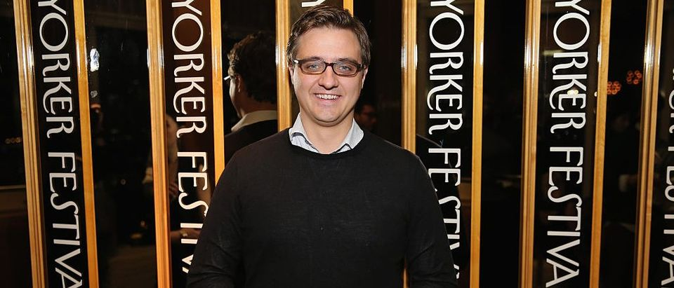 Chris Hayes attends the 2015 New Yorker Festival Wrap Party (Getty Images)
