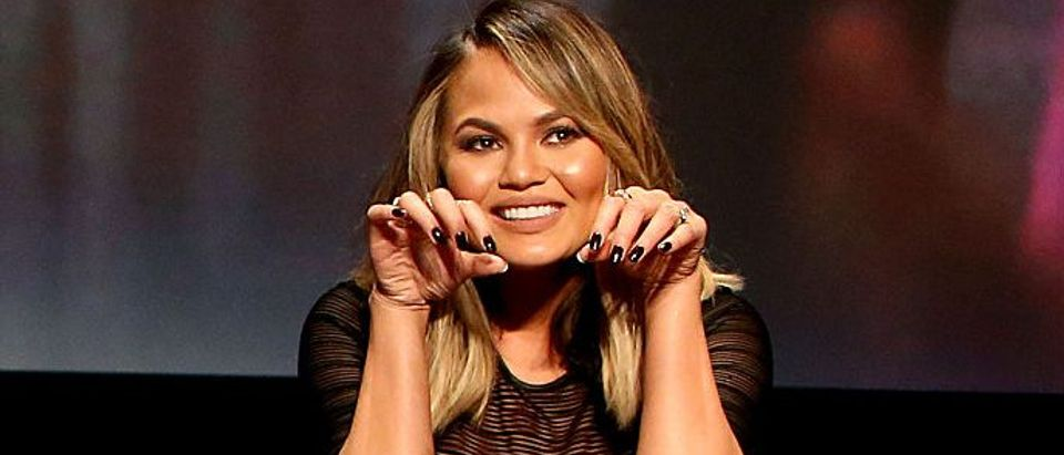 Chrissy Teigen speaks onstage during the FYC Event - Spike's 'Lip Sync Battle' at Saban Media Center on June 14, 2016 in North Hollywood, California