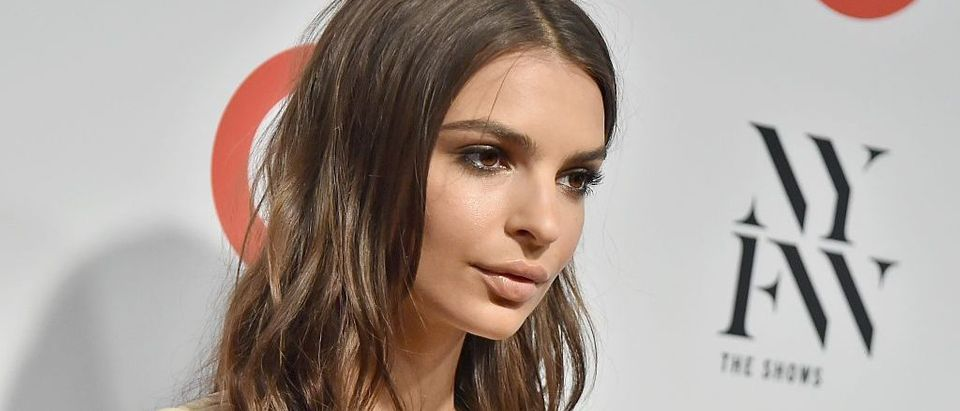 Emily Ratajkowski will not hesitate to defend herself. (Photo credit: Getty Images)
