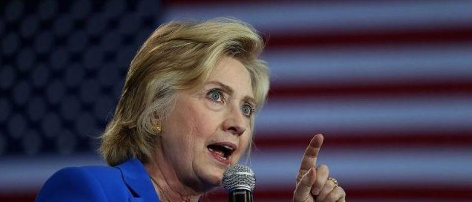 Democratic Presidential Candidate Hillary Clinton Campaigns In Charlotte, North Carolina (Photo: Justin Sullivan/Getty Images)