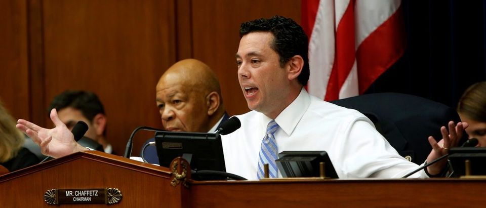 Chairman Chaffetz questions FBI Director Comey at House Oversight and Government Reform Committee in Washington