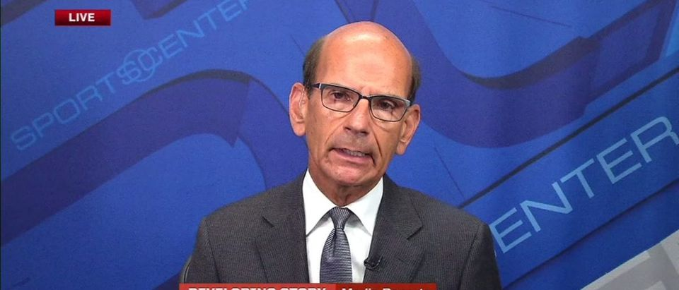 Paul Finebaum (Credit: Screenshot/ESPN Video)