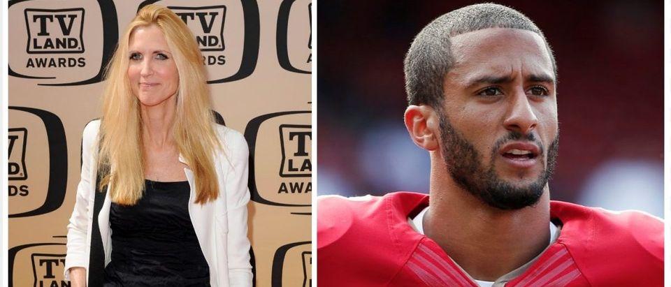 Ann Coulter, Colin Kaepernick (Credit: Reuters)