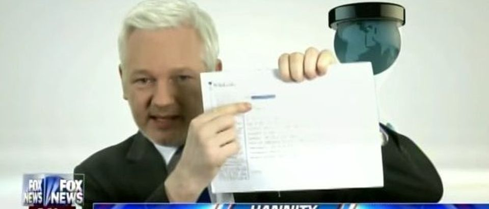 Julian Assange (Fox News)
