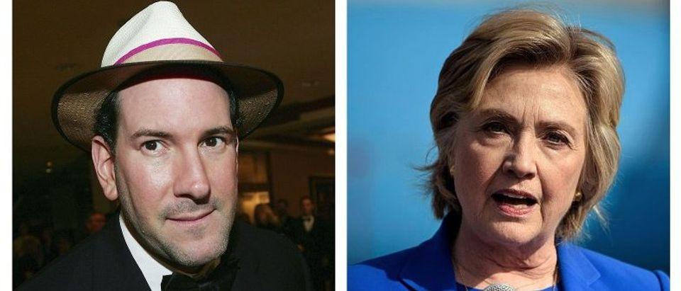 Matt Drudge, Hillary Clinton (Getty Images)