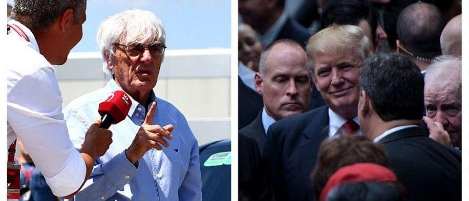 Bernie Ecclestone, Donald Trump (Getty Images)