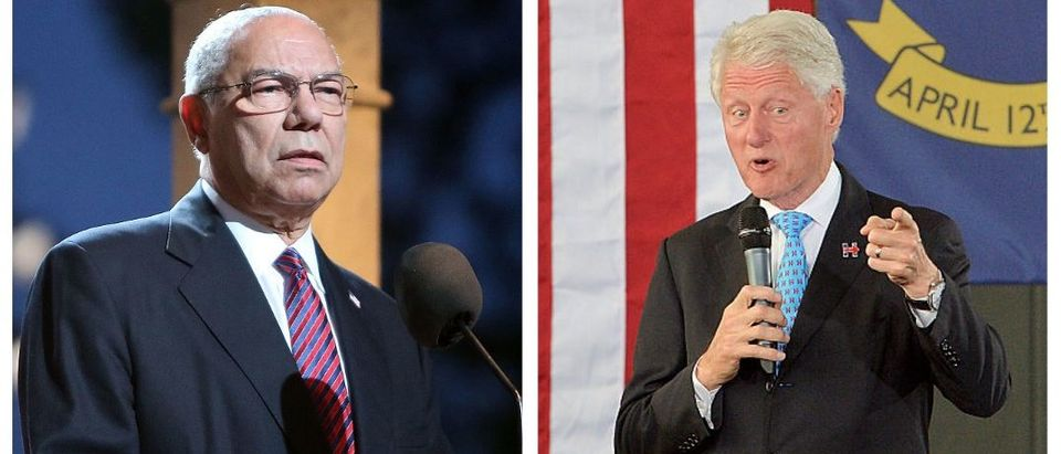 Colin Powell, Bill Clinton (Getty Images)