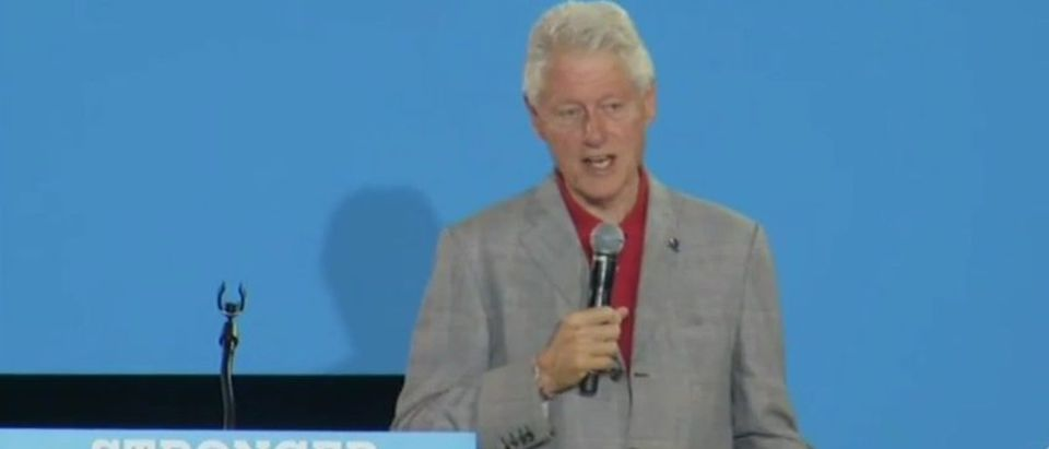 Bill Clinton speaks in Las Vegas (YouTube)