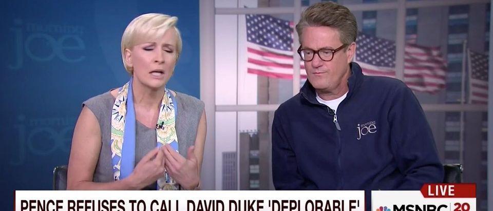 Mika Brzezinski and Joe Scarborough (MSNBC)