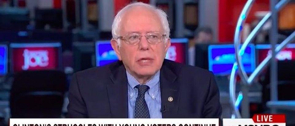 Bernie Sanders (MSNBC)