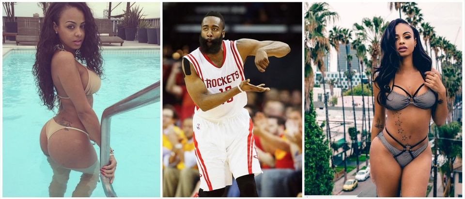 Analicia Chaves, James Harden (Credit: Instagram, Getty Images)