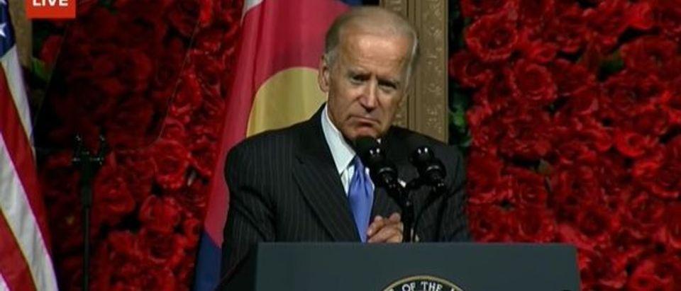 Joe Biden speaks at University of Denver (YouTube)