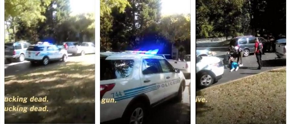 BREAKING: Keith Lamont Scott's Family Releases Video Of Police Shooting (YouTube)
