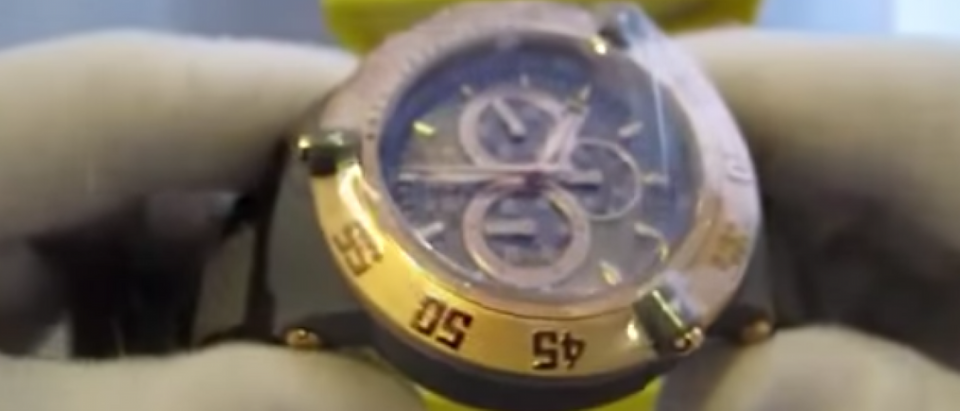 This beloved Invicta watch is $800 off right now (Photo via YouTube screenshot)