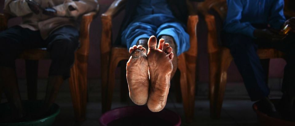 leprosy Getty Images/CHANDAN KHANNA