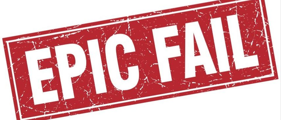 Epic Fail (Shutterstock)