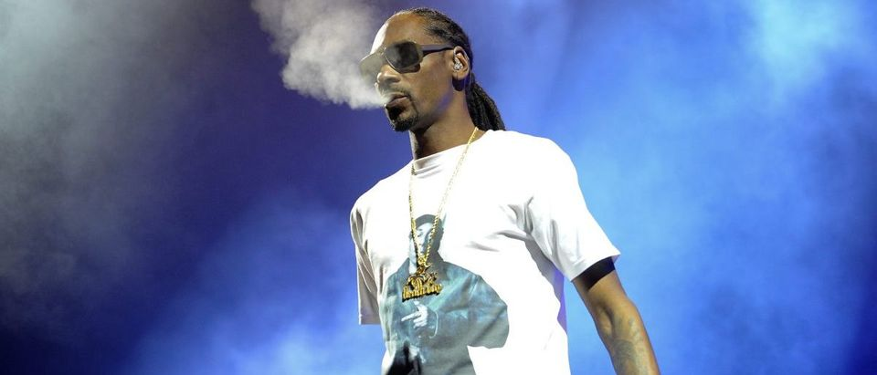 Snoop Dogg performs during the High Road Tour 2016 concert in Austin, Texas