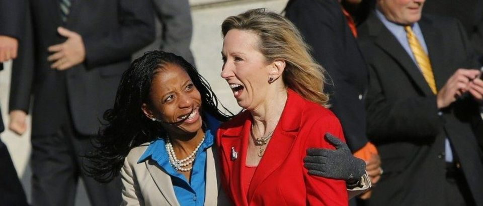 File photo of freshman members of the incoming U.S. 114th Congress Love and Comstock in Washington