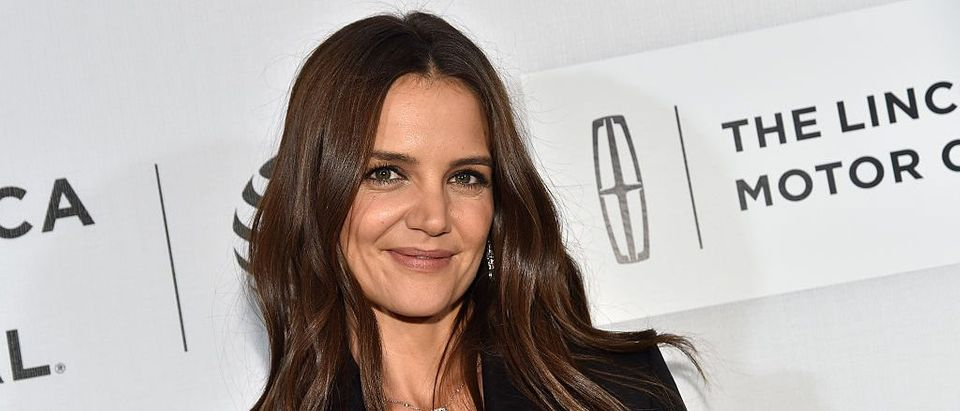 Actress Katie Holmes attends the 'All We Had' Premiere during the 2016 Tribeca Film Festival at BMCC John Zuccotti Theater on April 15, 2016 in New York City