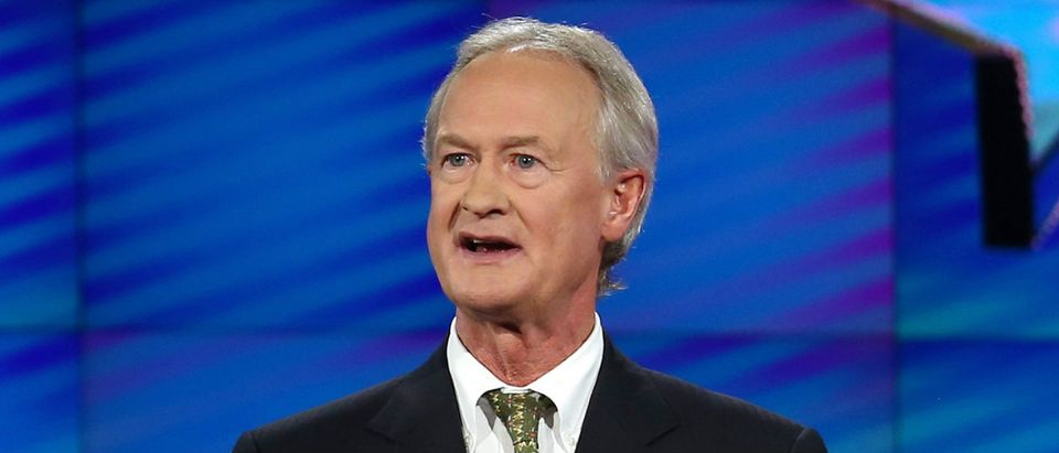 Lincoln Chafee Getty Iamges/Joe Raedle