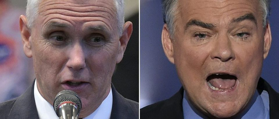 Mike Pence And Tim Kaine