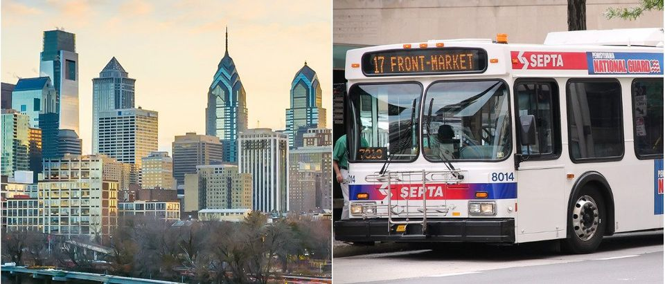 Philadelphia: f11photo/Shutterstock.com, SEPTA Bus: Tupungato/Shutterstock.com
