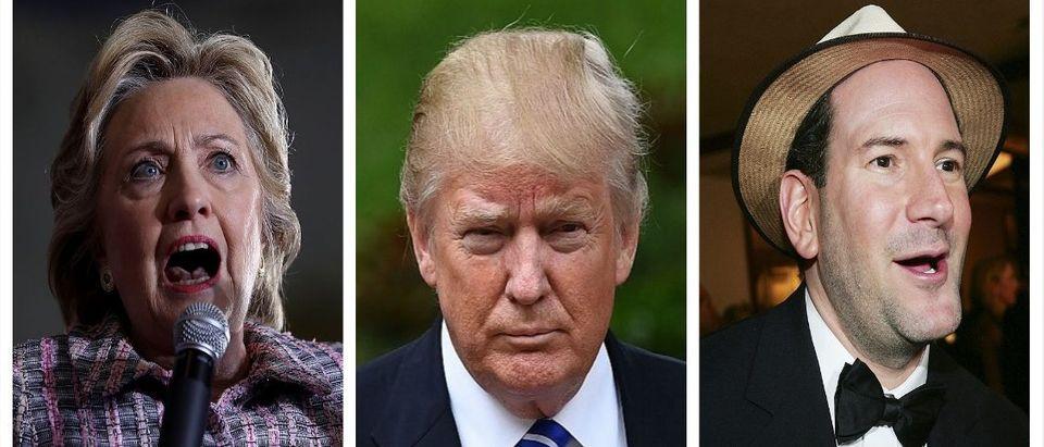 Hillary Clinton, Donald Trump, Matt Drudge (Getty Images)