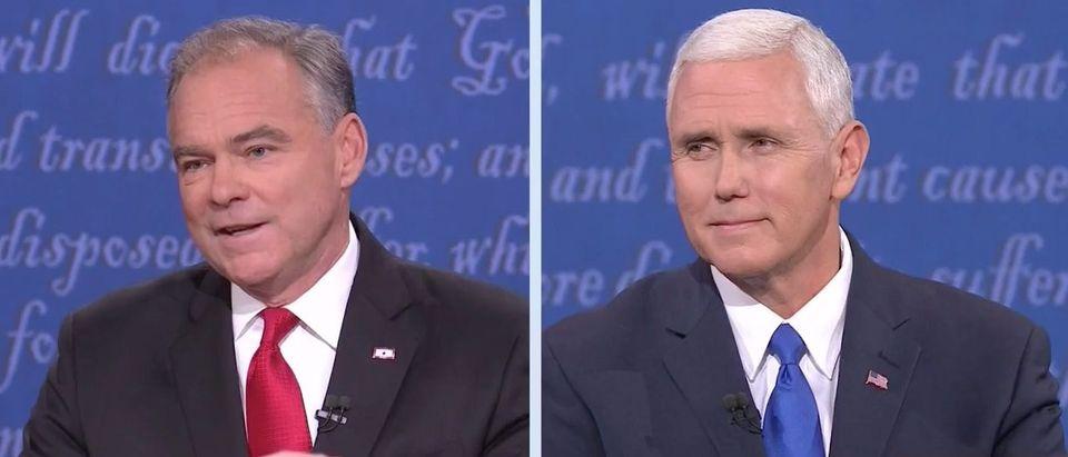 Tim Kaine, Mike Pence (MSNBC)