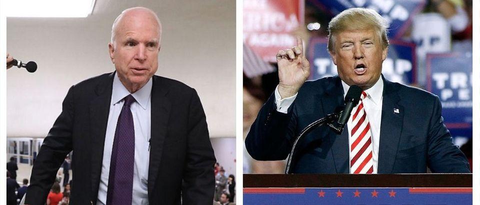 John McCain, Donald Trump (Getty Images)