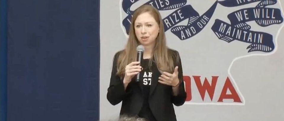 Chelsea Clinton speaks in Iowa (YouTube)
