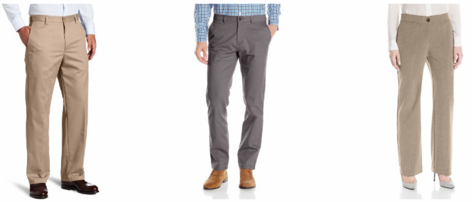 Both men and women's pants are 70 percent off today (Amazon screenshot)