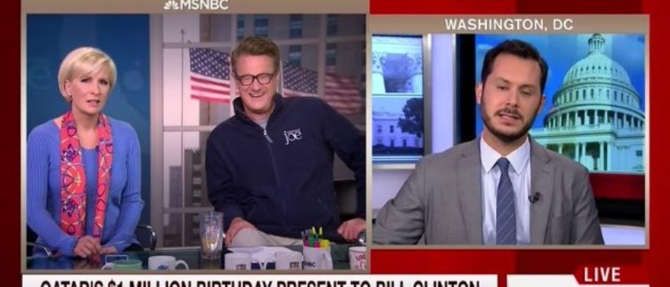Mika Brzezinski, Joe Scarborough, Sam Stein (MSNBC)