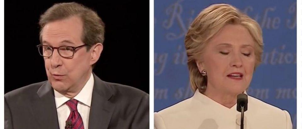Chris Wallace, Hillary Clinton (MSNBC)