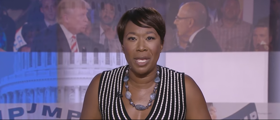 Joy Ann Reid speaks on her MSNBC program, AM Joy. YouTube Screenshot: https://www.youtube.com/watch?v=lsXQEy6Jg7A